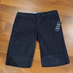 Tommy Hilfiger Dark long jean shorts size 4